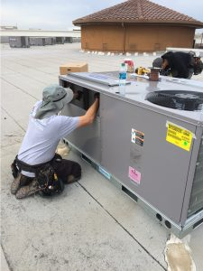 Commercial Air Conditioning Unit Installation